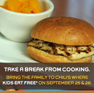 Chilis:  Kids Eat Free